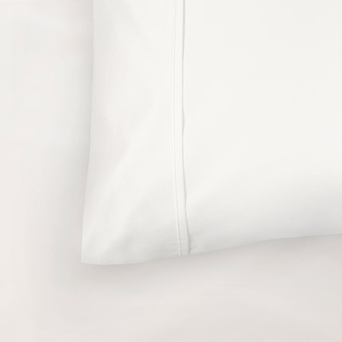 White 1000 Thread Count Supima Cotton Standard Housewife Pillowcase Pair