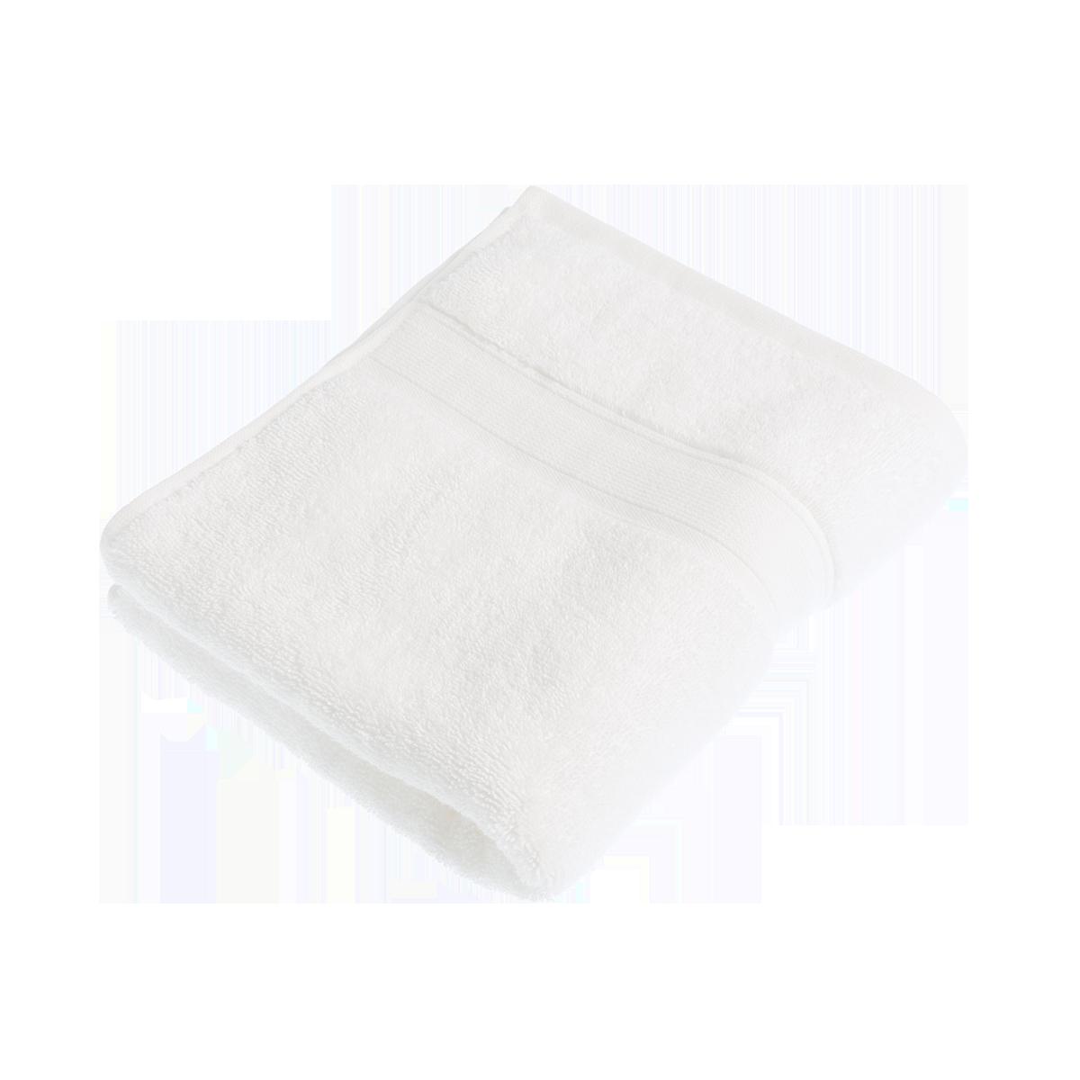 White Organic Cotton Bath Towel