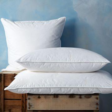 Duck Feather & Down Standard Pillow Pair - Soft/Medium