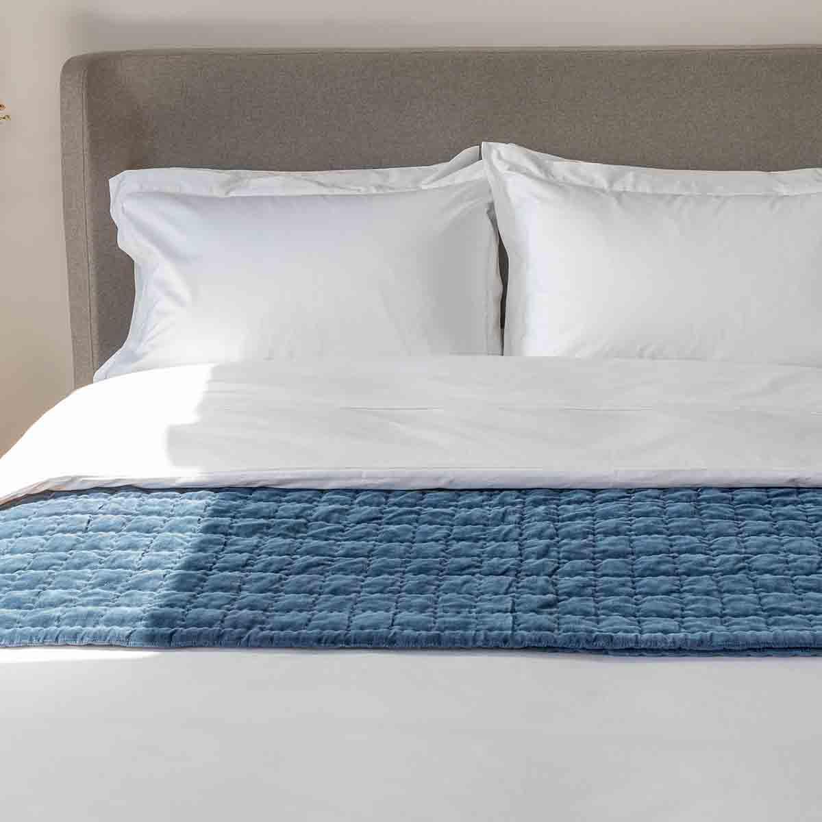 White 1000 Thread Count Supima Cotton Superking Duvet Cover