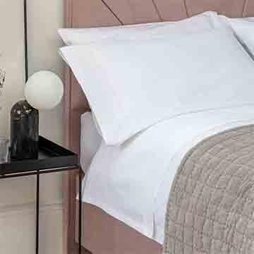 White 400 Thread Count Egyptian Cotton Superking Duvet Cover
