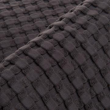 Midnight Grey Waffle Cotton Bedspreads