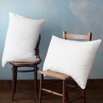 Soft As Down Microfibre With Silk Superking Pillow Pair - Medium/Firm