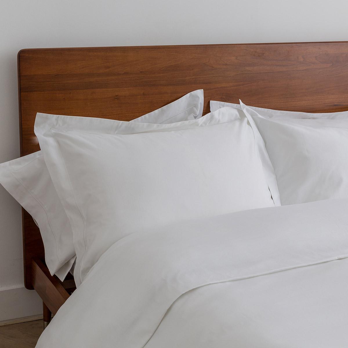 White 600 Thread Count Egyptian Cotton Single Bed Set