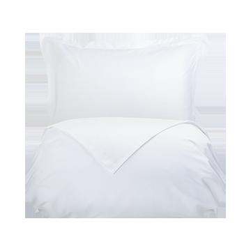 White 300 Thread Count Cotton Single Duvet Cover