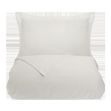 White 500 Thread Count Egyptian Cotton Superking Duvet Cover