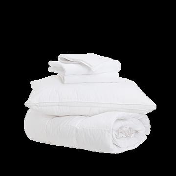 Ultimate Bedding Bliss Bundle - Single - Medium/Firm
