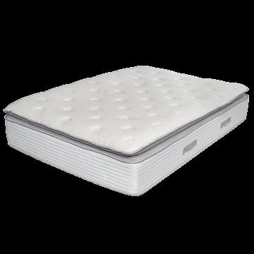 Luxury Memory Foam 3000 Pocket Spring Pillow Top Double Mattress - Medium/Firm