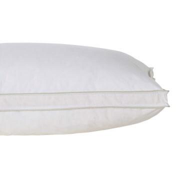 Hungarian Goose Down Standard Pillow Pair - Soft/Medium