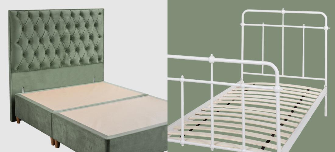 Divan Beds vs Bed Frames I Soak&Sleep
