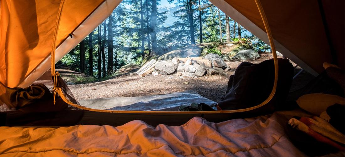 How to sleep when you are camping I Soak&Sleep