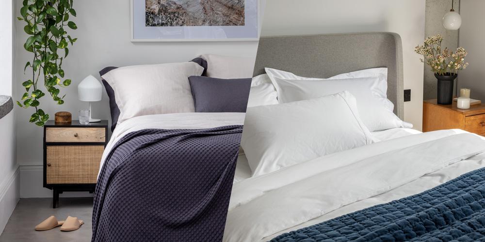 Flax linen vs Cotton, what makes the best bedding? I Soak&Sleep
