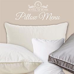 Hotel Pillow Menu | Soak&Sleep