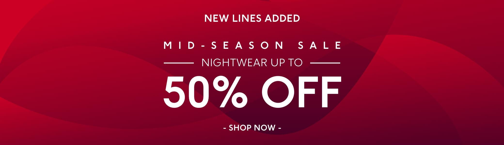 Shop Sale Nightwear