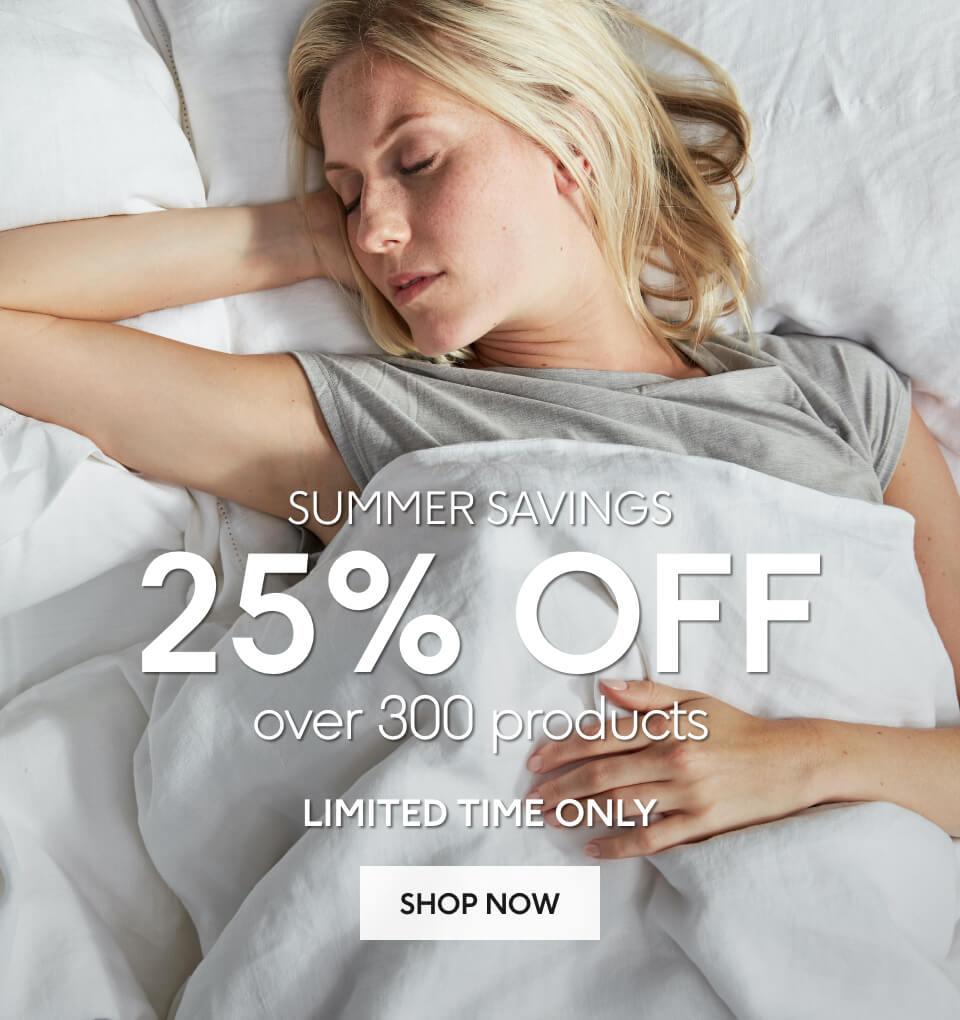 25% Off Summer Savings