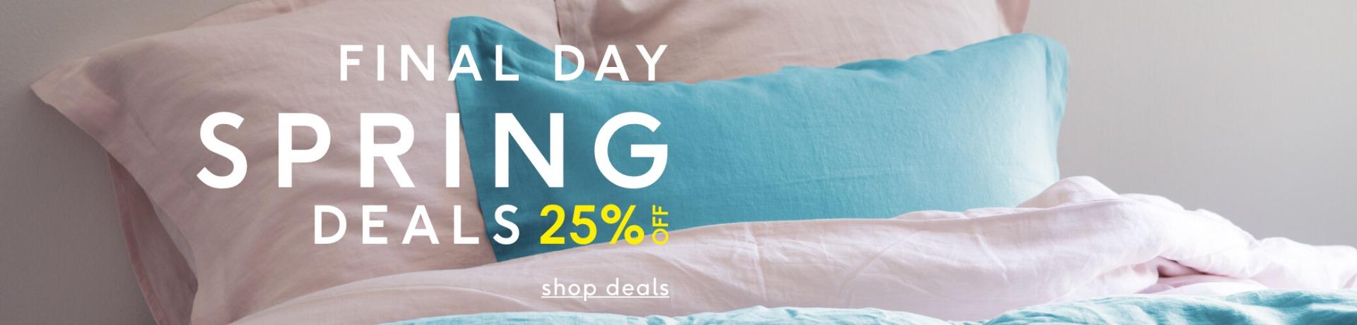 Shop Spring Deals - 25% Off