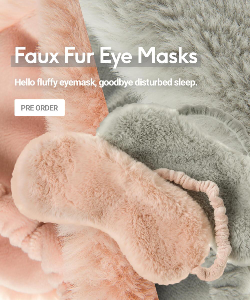 Faux Fur Eye Masks - Pre Order
