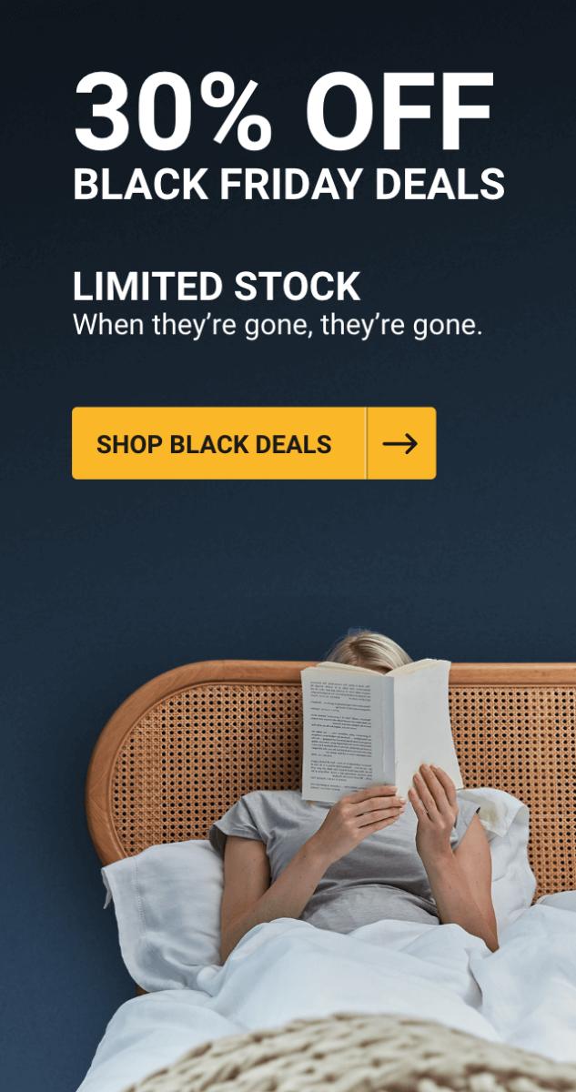 Black Friday Deals - 30% OFF