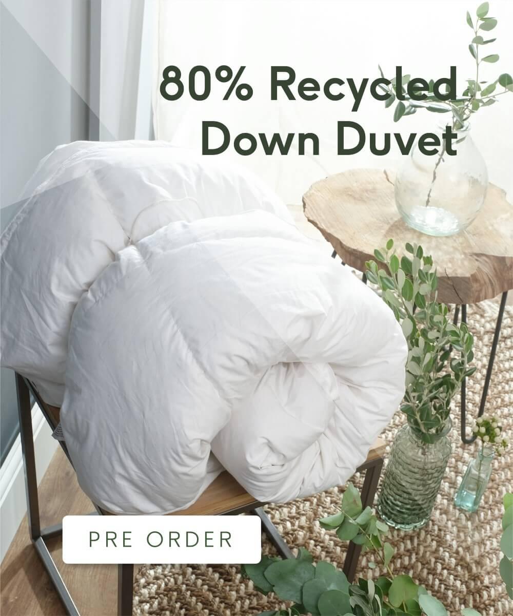 80% Recycled Down Duvet - Pre-order