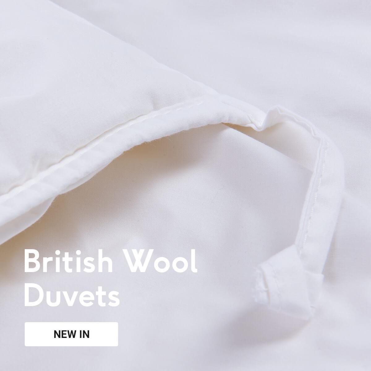British Wool Duvets
