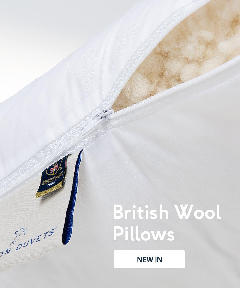 British Wool Pillows
