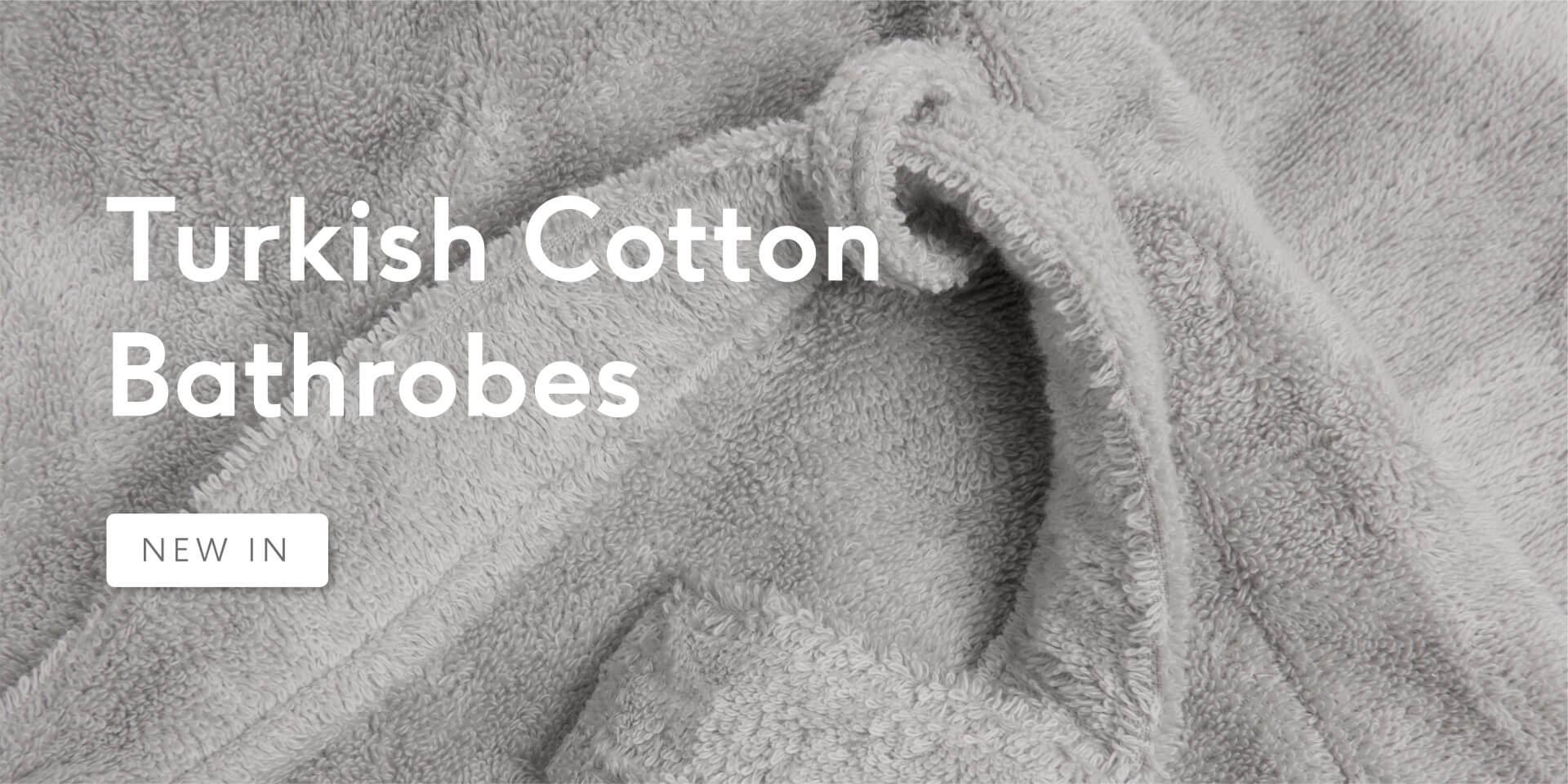 Turkish Cotton Bathrobes - New In