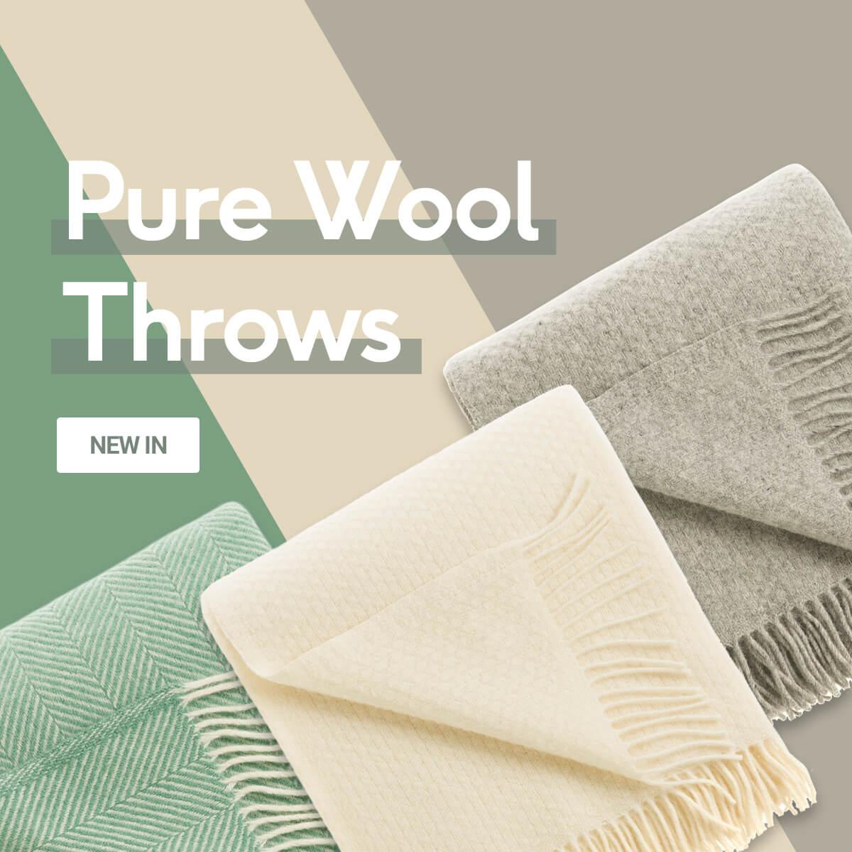 Pure Wool Thorws - Coming Soon