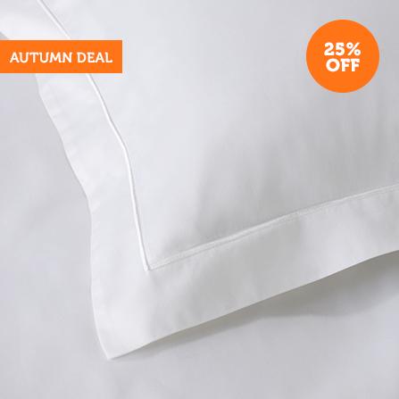 600TC Egyptian Cotton Bed Linen - White