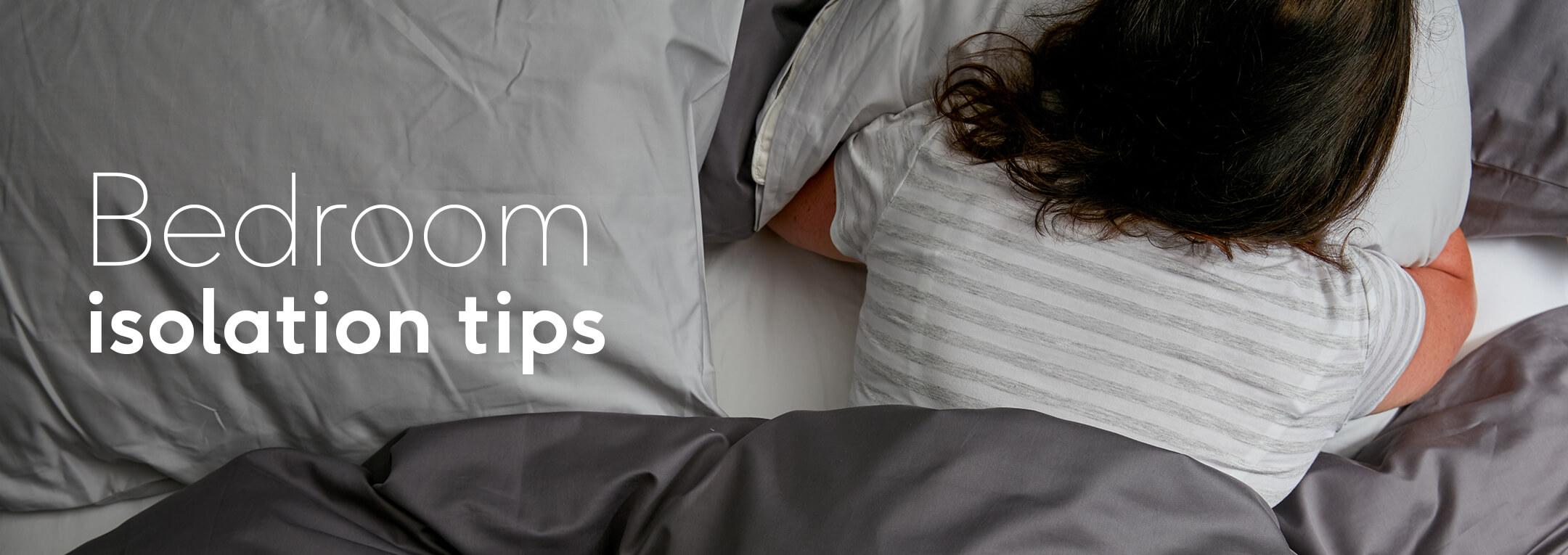 bedroom self isolation tips