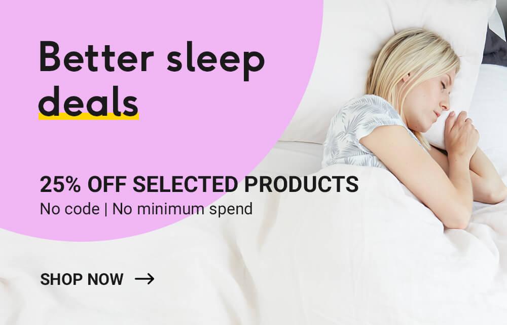Better sleep deals