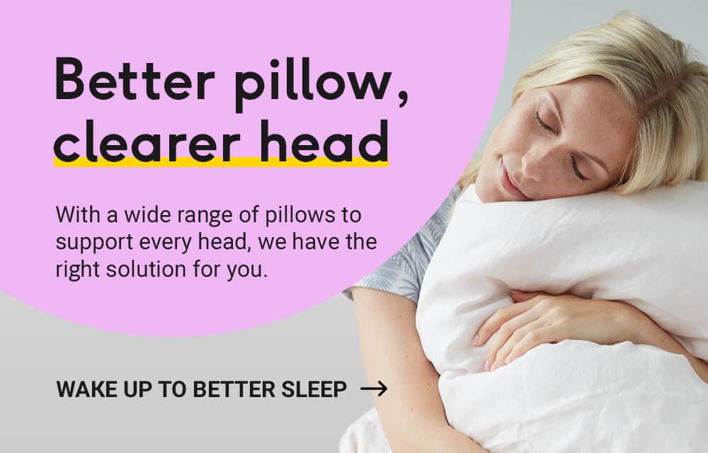 Better pillow, clearer head