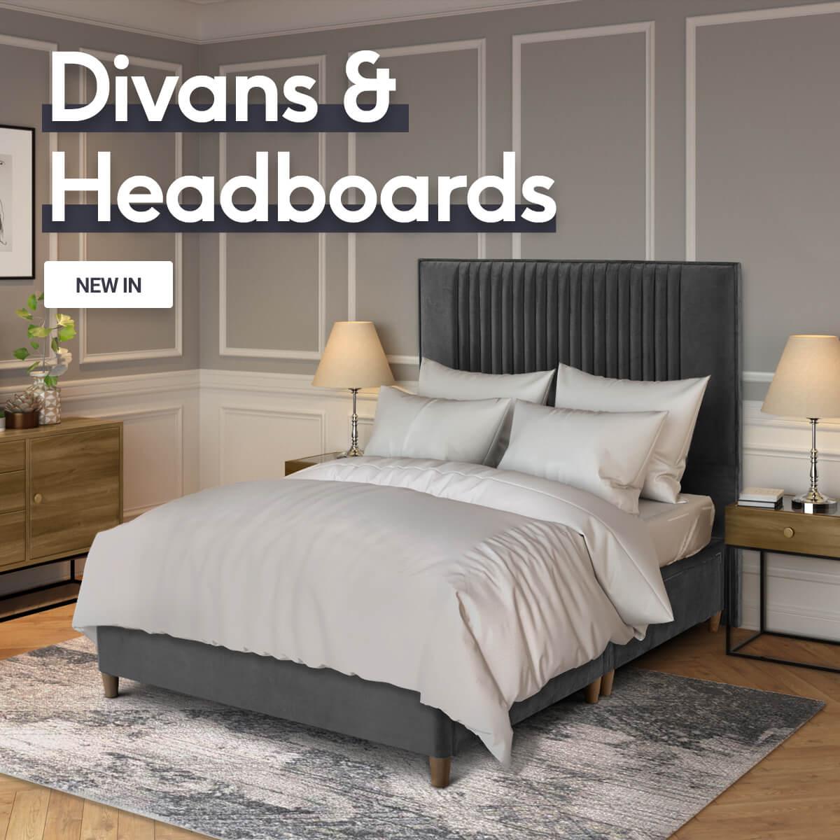 Divans & Headboards - New In